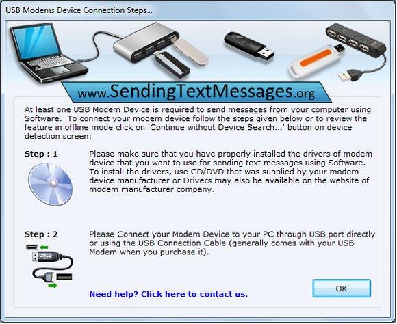 GSM Modem for Sending SMS 8.2.1.0